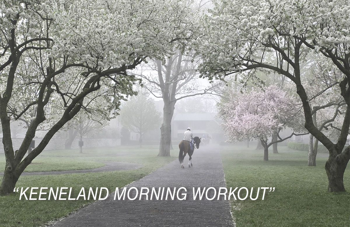KEENELAND MORNING WORKOUT